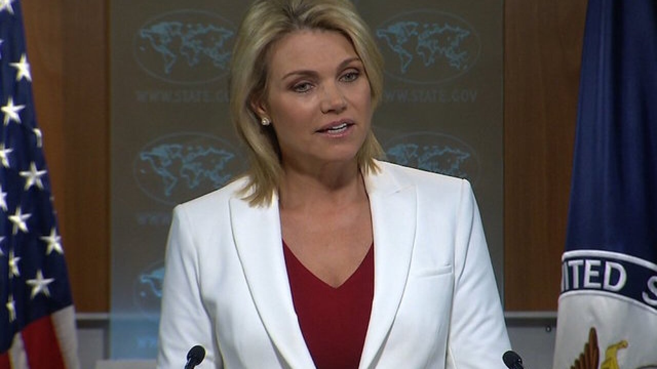 President Trump says he'll nominate Heather Nauert as UN ambassador