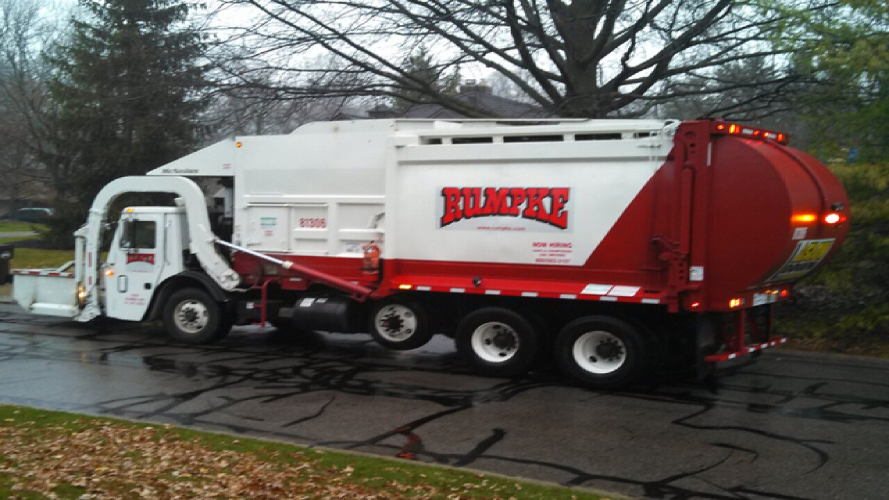 Woman sleeping in dumpster gets trapped in garbage truck