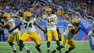 Aaron_Rodgers_Green Bay Packers v Detroit Lions