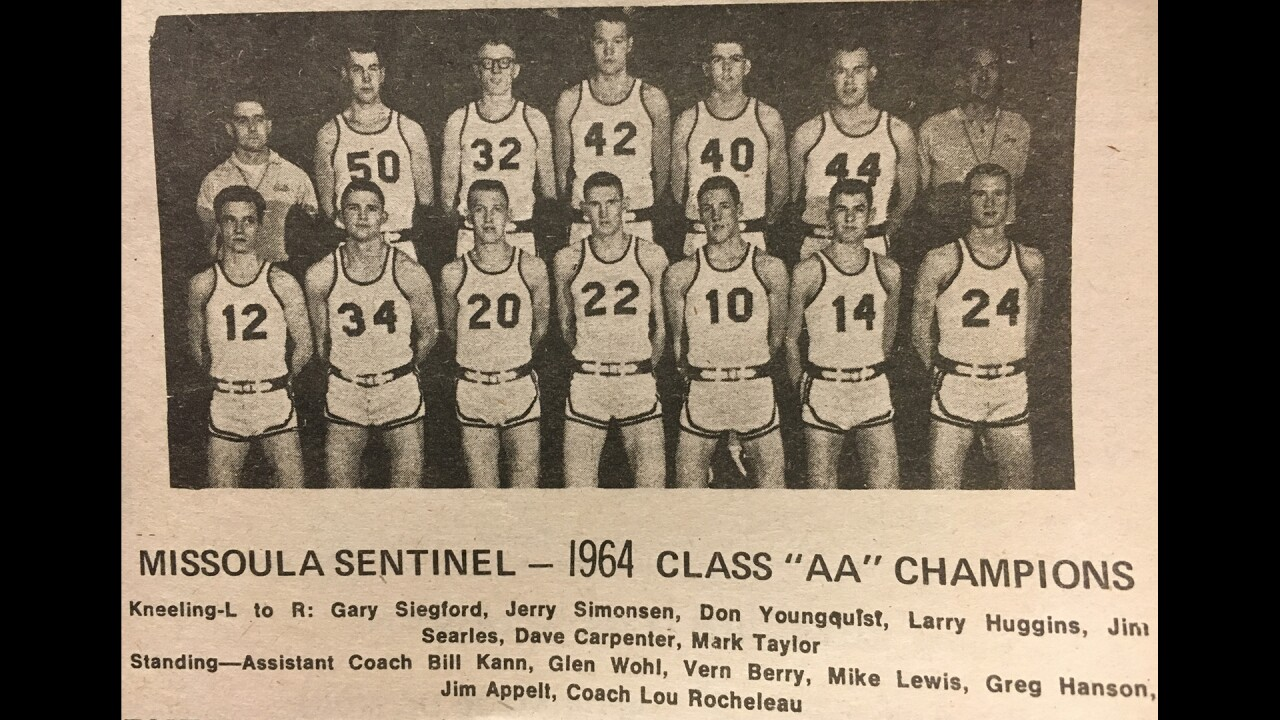 1964 Missoula Sentinel