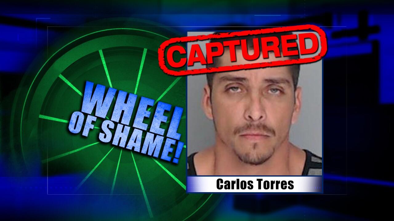 Wheel Of Shame Fugitive Arrested: Carlos Torres