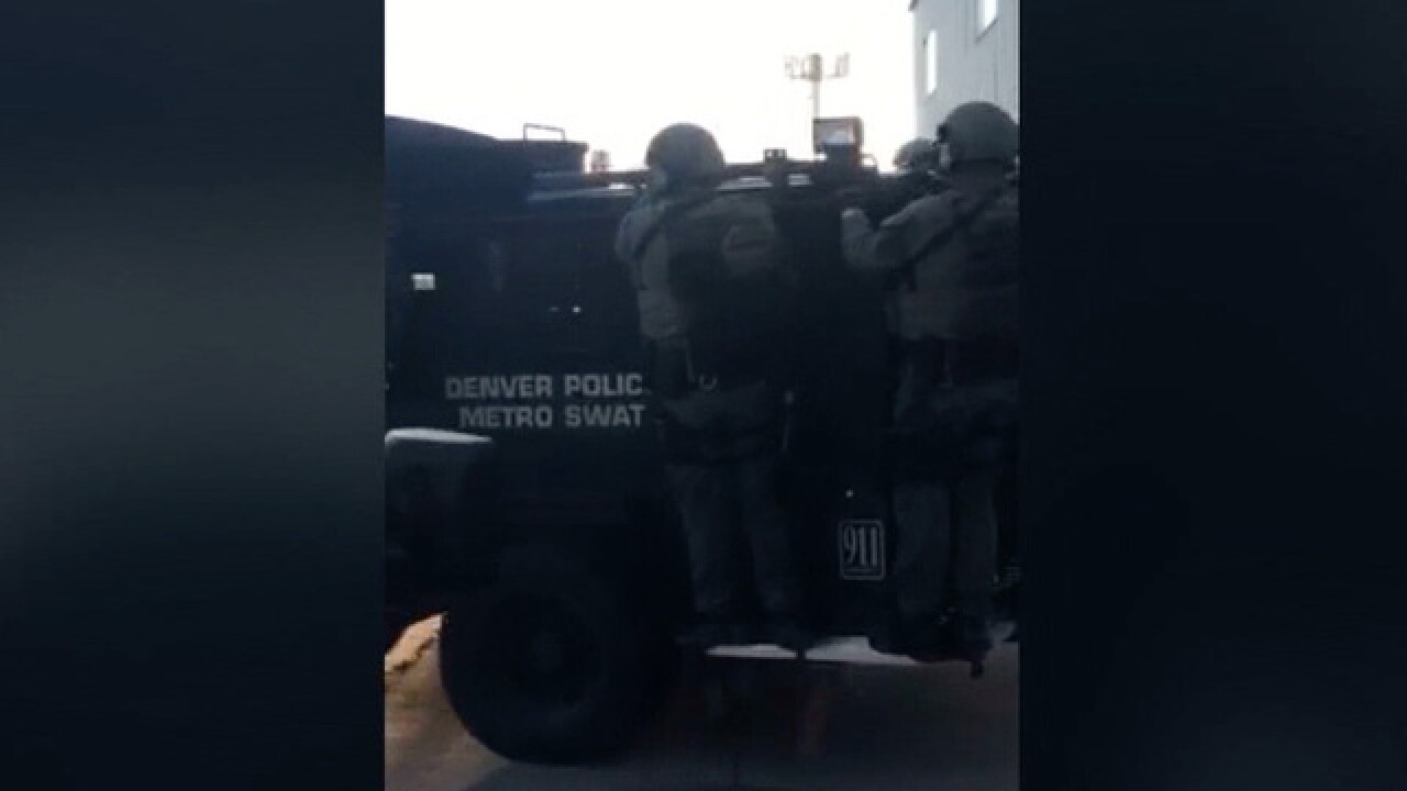 Developing: DPD executes SWAT 'operation'