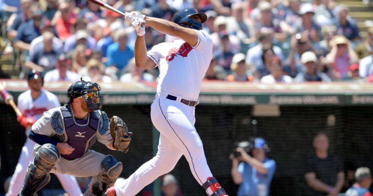 WATCH: Bradley rips a double in Major League debut