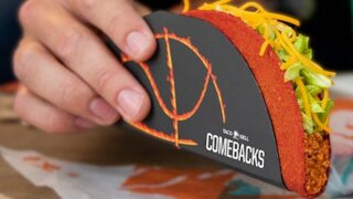 Here's how to get a free Flamin' Hot Doritos Locos taco from Taco Bell