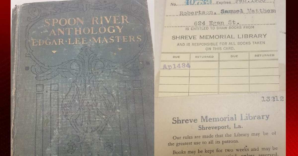Better late than never? Library book 84 years overdue