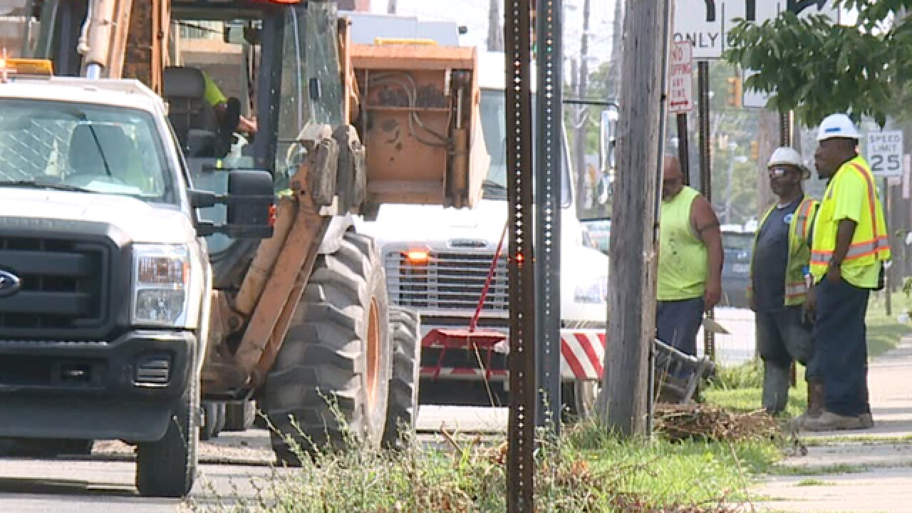 CLE Hts. residents concerned about main breaks