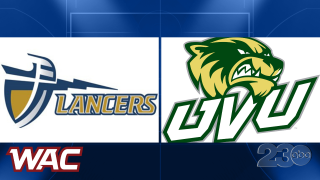 Cal Baptist vs Utah Valley in WAC Basketball
