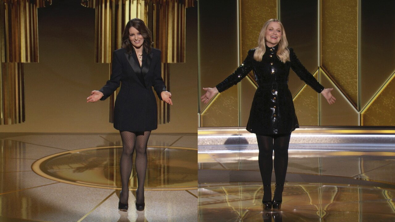 2021 Golden Globe Awards tina fey amy poehler