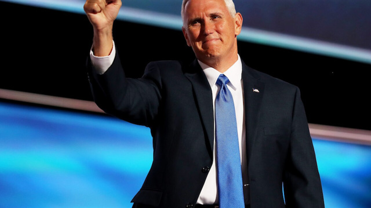 The price tag for Pence's trip to Indianapolis