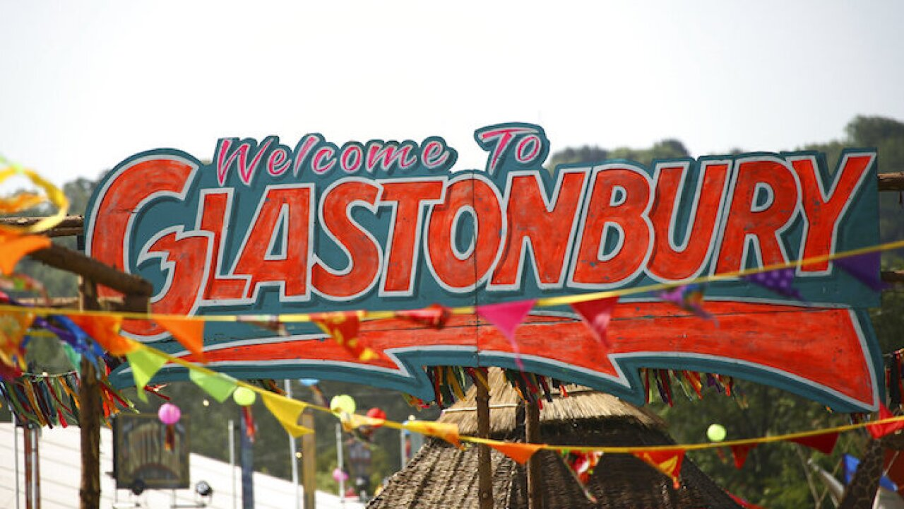 Britain Glastonbury