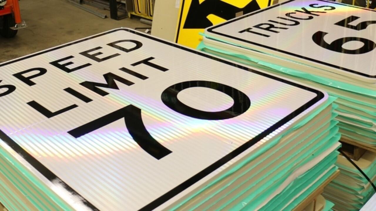 Oregon raises speed limit on select highways