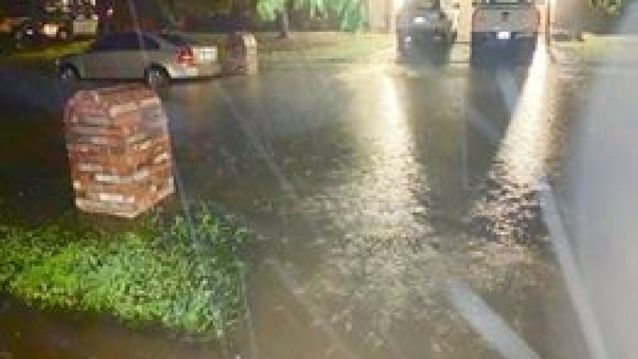 Severe storms in Green Country
