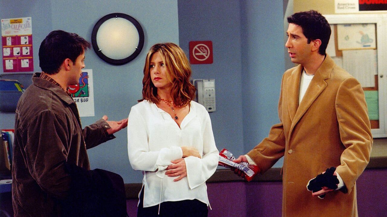 Cable company will pay one lucky fan $1,000 to watch 25 hours of 'Friends'