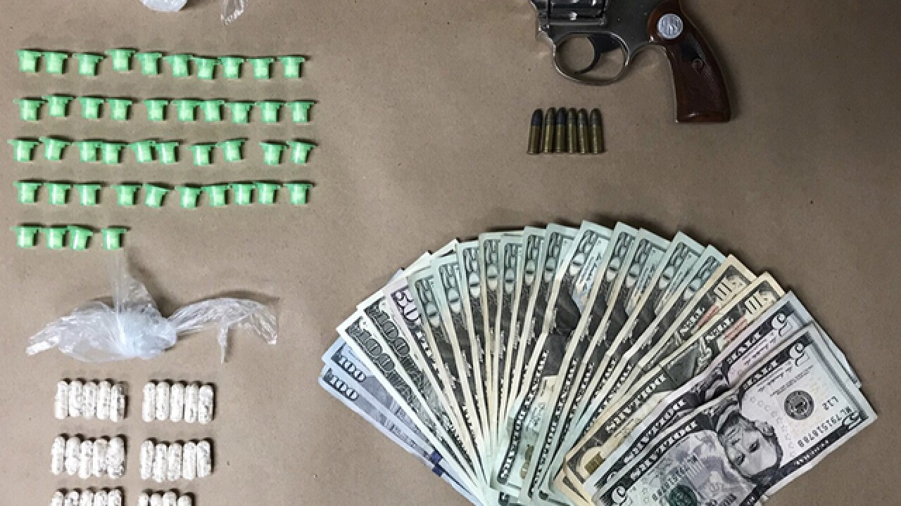 Loaded gun, drugs found on Franklin Square man