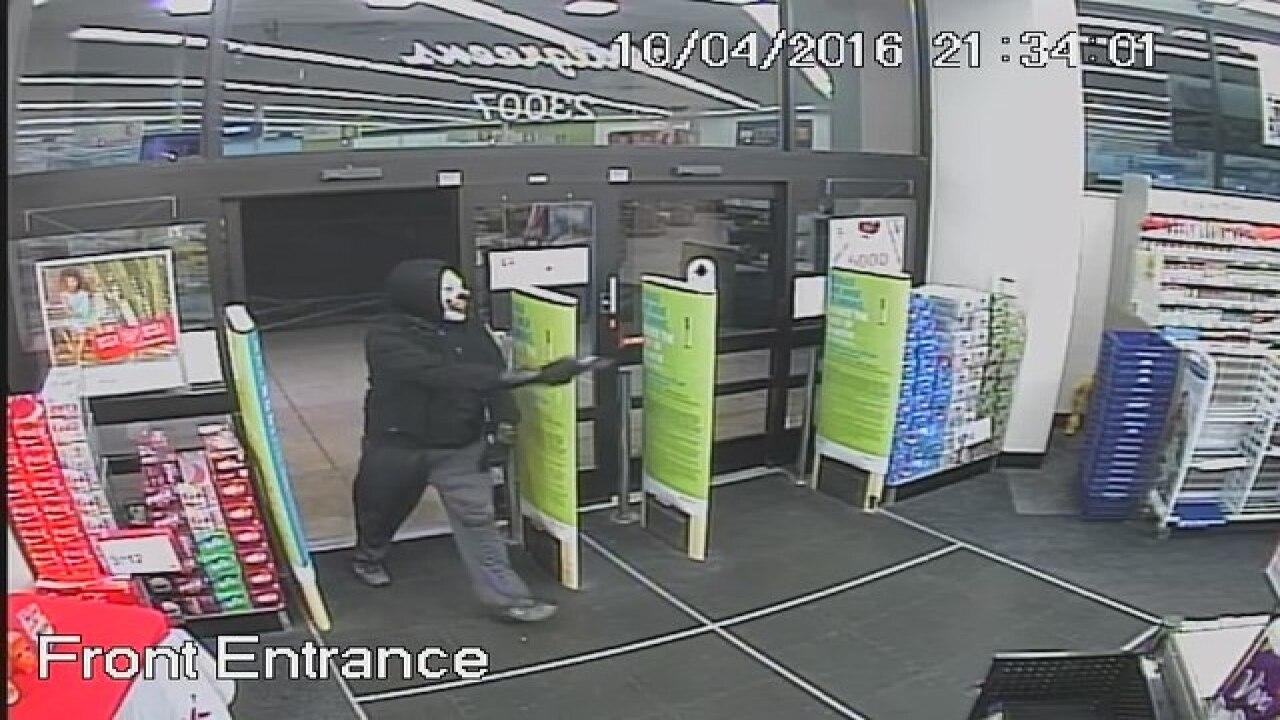 Armed clown robs Walgreens in Brownstown