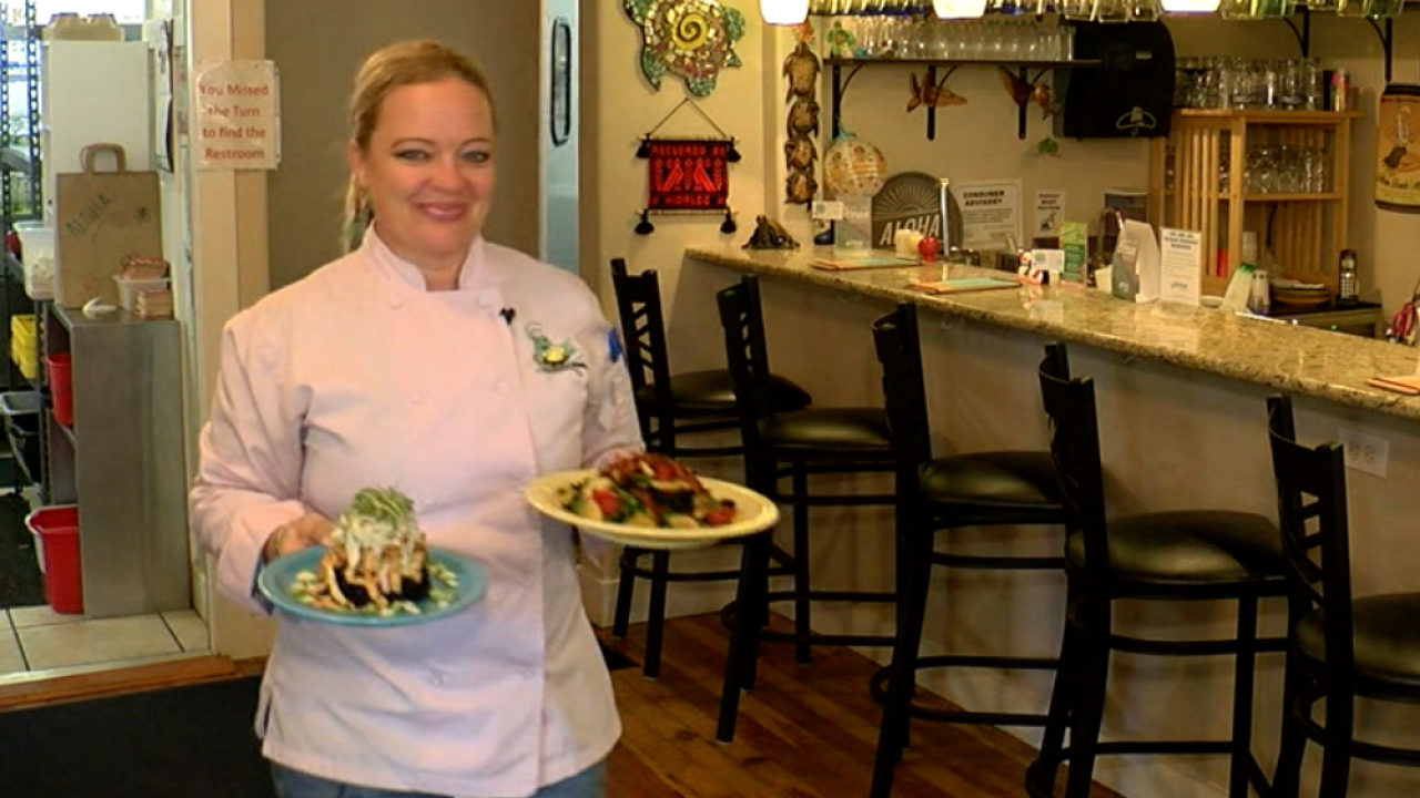 Chef Kimberly Platt at The Honu