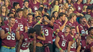 Montana Grizzlies' student section