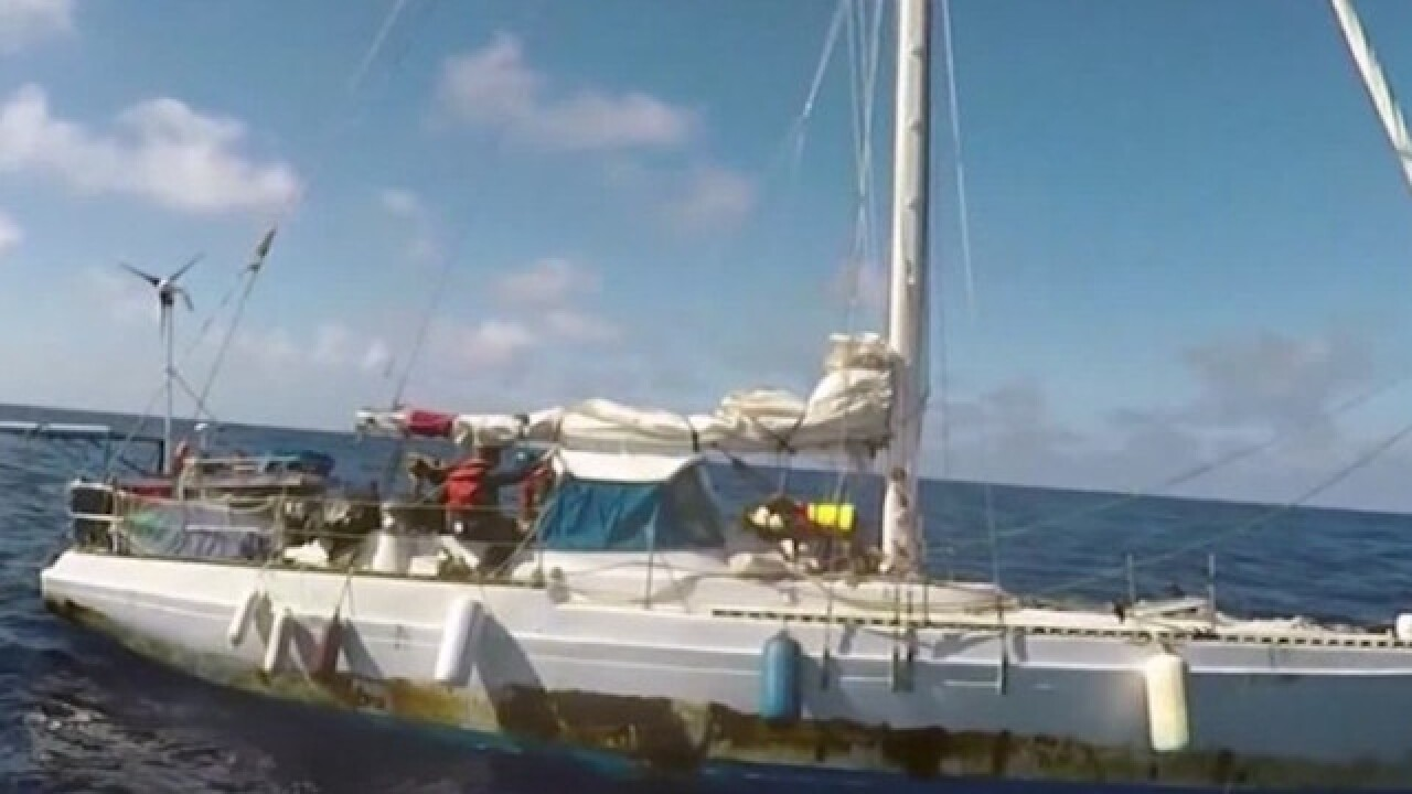 Questions raised about sailors' story after months stranded at sea