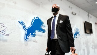 Brad Holmes introduced as Lions General Manager
