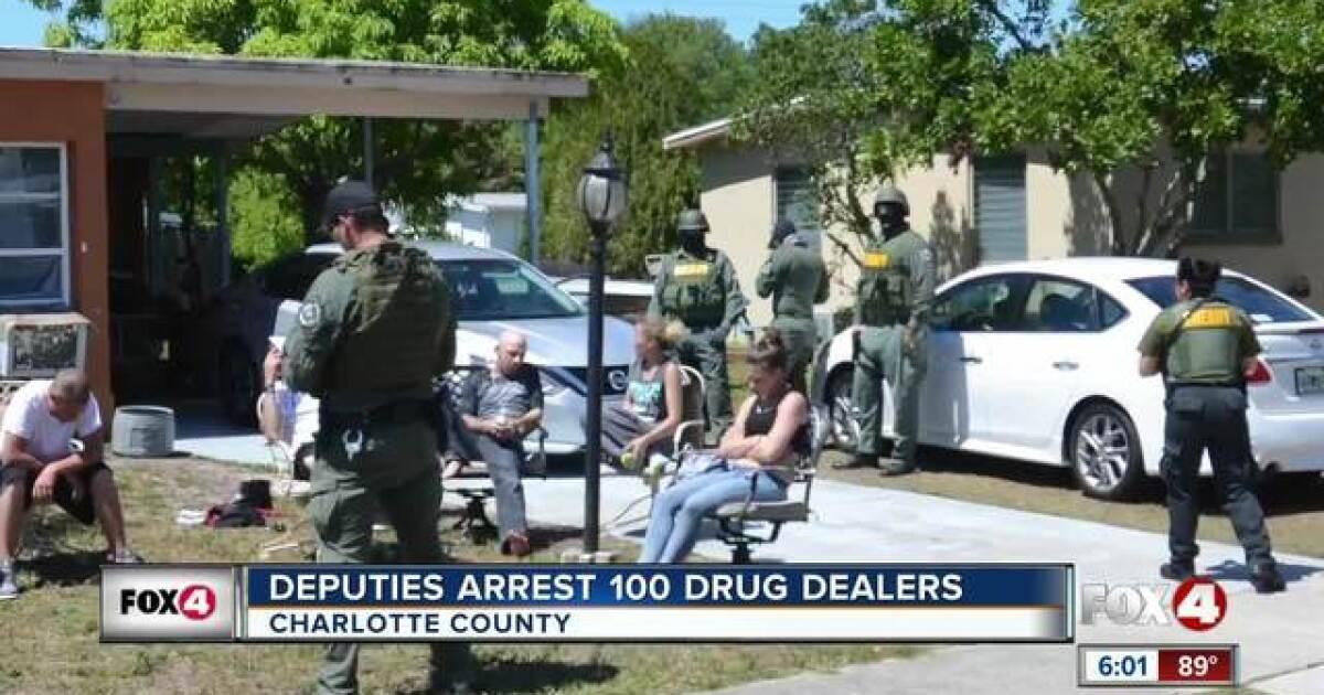 Deputies arrest almost 100 drug dealers under 'Operation Spring