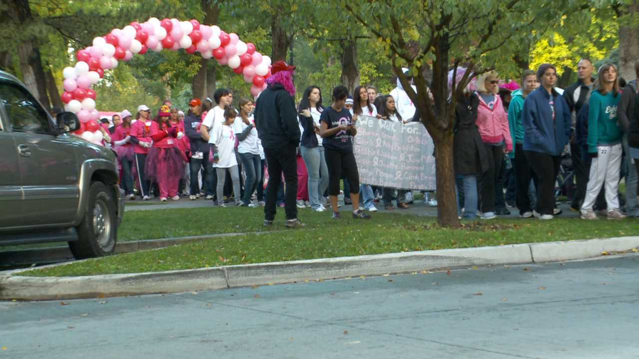 FOX 13 joins thousands in 'Making Strides Against Breast Cancer'