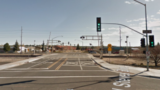 Google Street View of Flagstaff Route 66