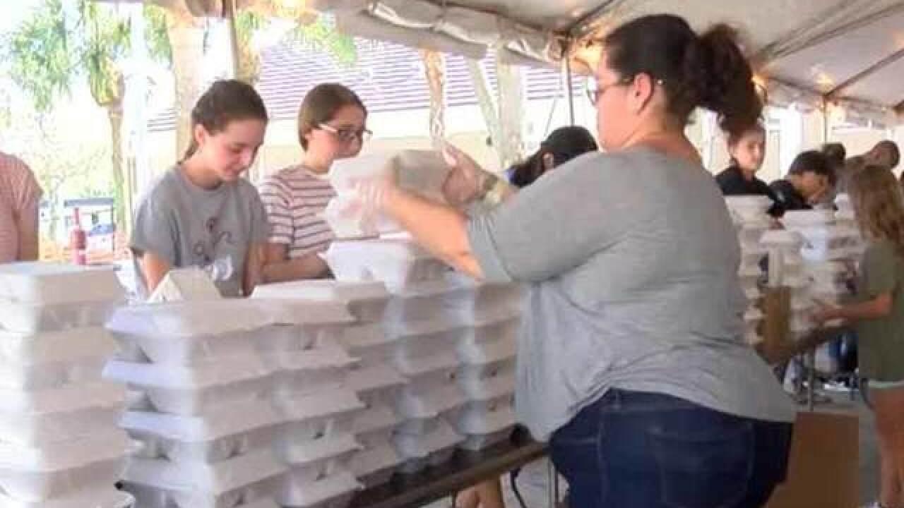 'Big Heart Brigade' boxes up Thanksgiving meals