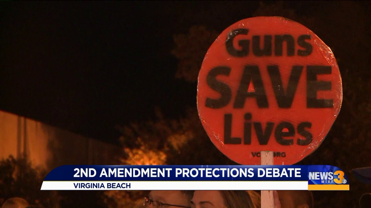 As Virginia Beach calls for Second Amendment vote, people on both sides weighin