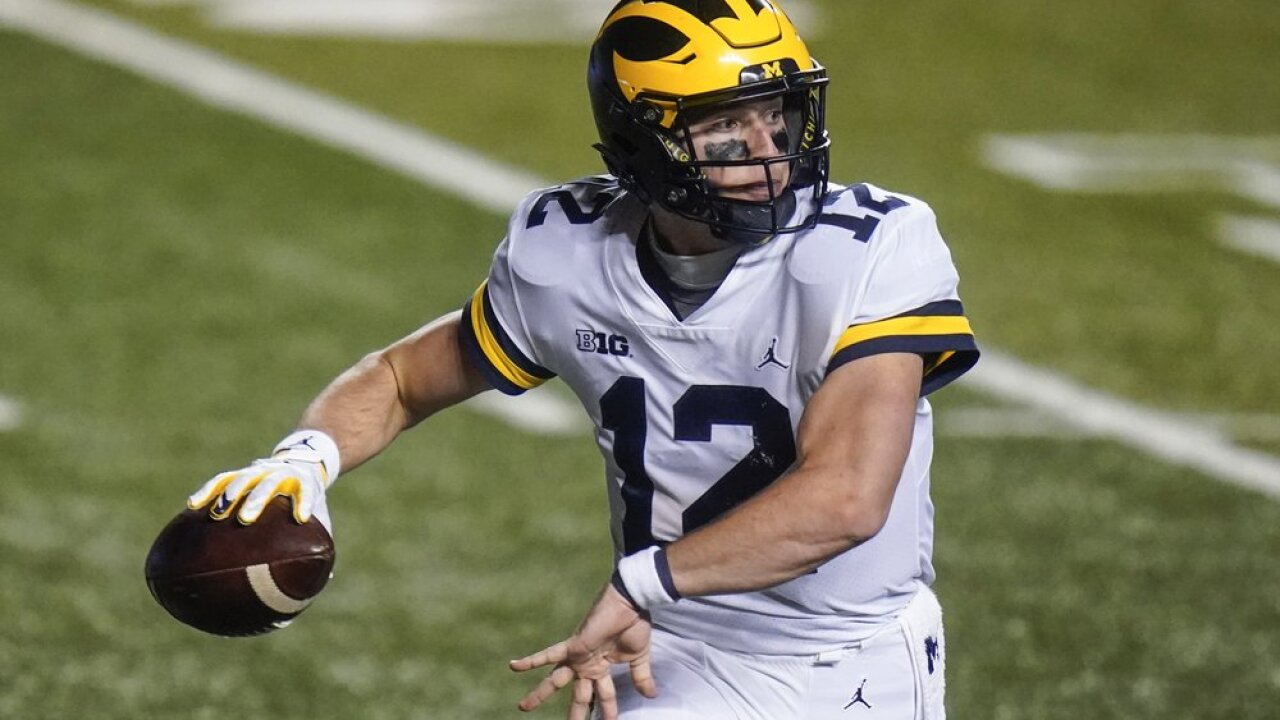 Michigan's switch to Cade McNamara helped end losing skid