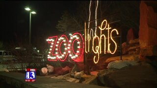 Uniquely Utah: Hogle Zoo in winter