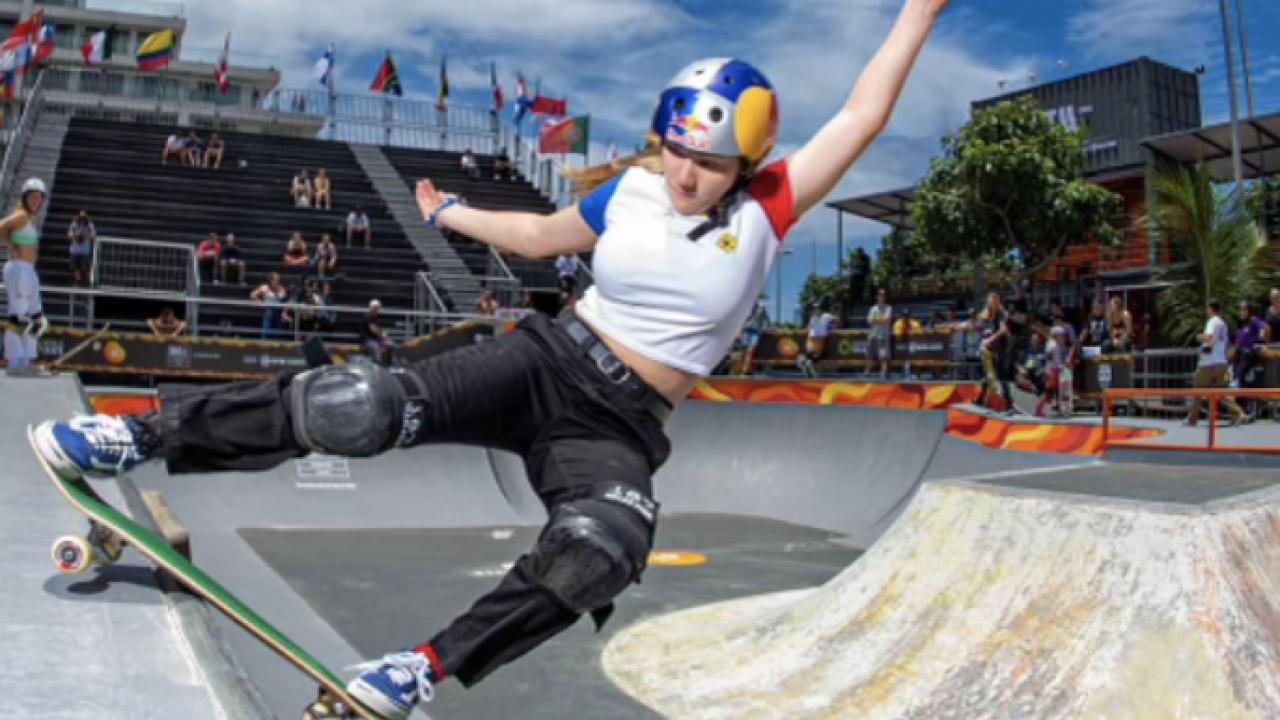 Skateboarding Encinitas teen prepares for Olympics like no other