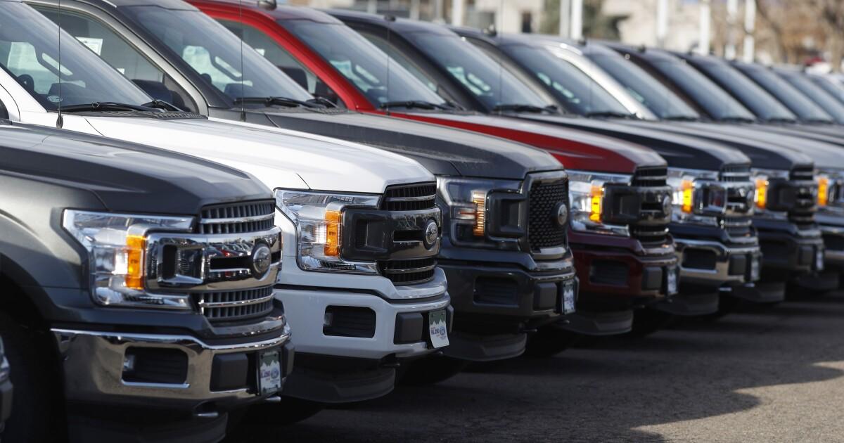 Ford recalls 217K F-150 trucks for headlight problem