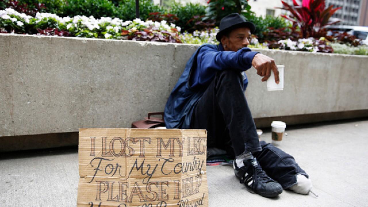 $5 million in new funding to help homeless vets