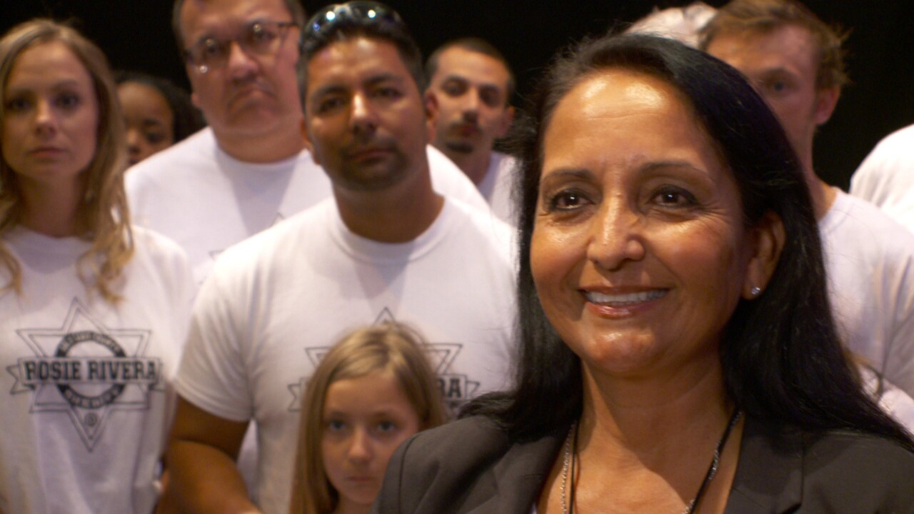 Rosie Rivera becomes first woman elected to serve as Salt Lake County Sheriff