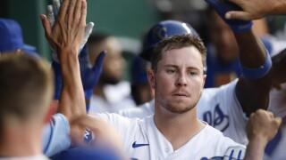 Ryan O'Hearn Tigers Royals Baseball