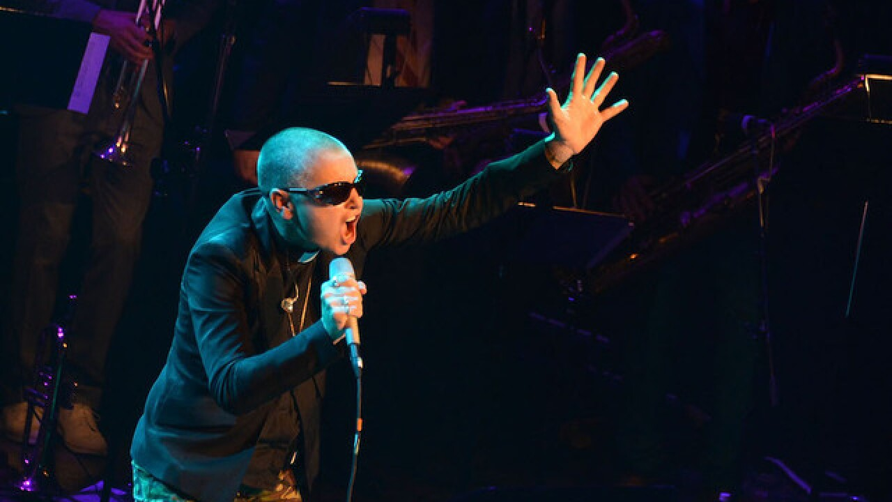 Singer Sinead O'Connor is fine, police say