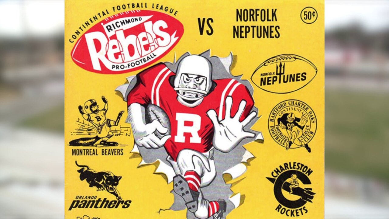 How professional football in Richmond reached the pinnacle, before fading forever