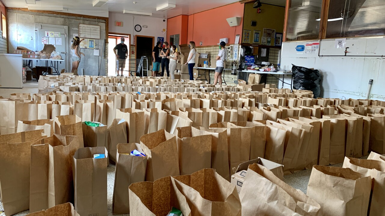 Flathead volunteer group tackles COVID concerns through food distribution and deliveries