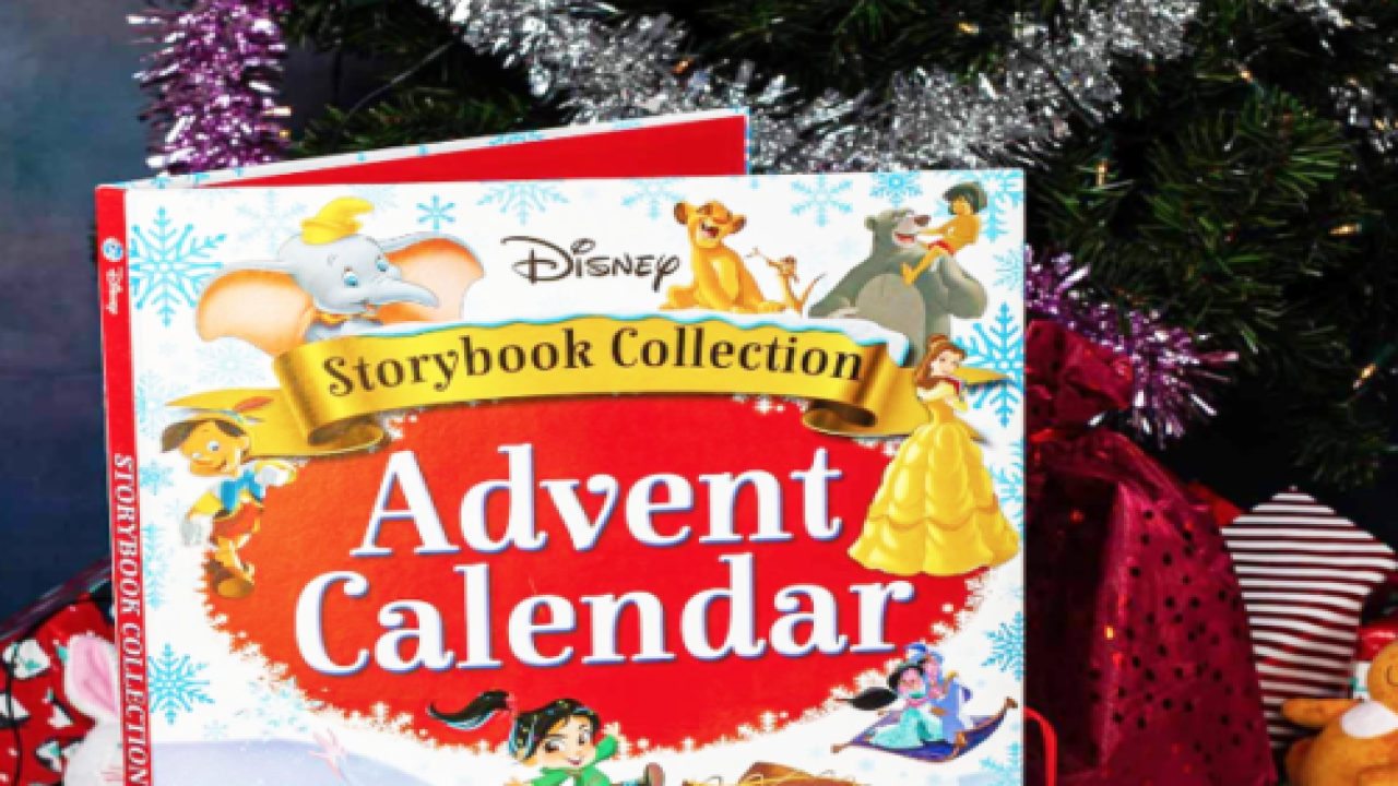 This New Disney Advent Calendar Is Filled With 24 Children's Books