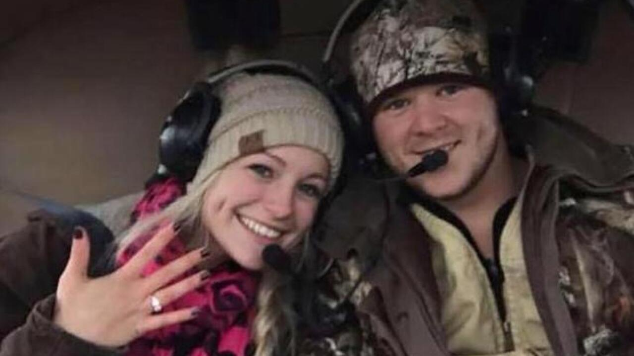 Newlyweds die in helicopter crash leaving their wedding