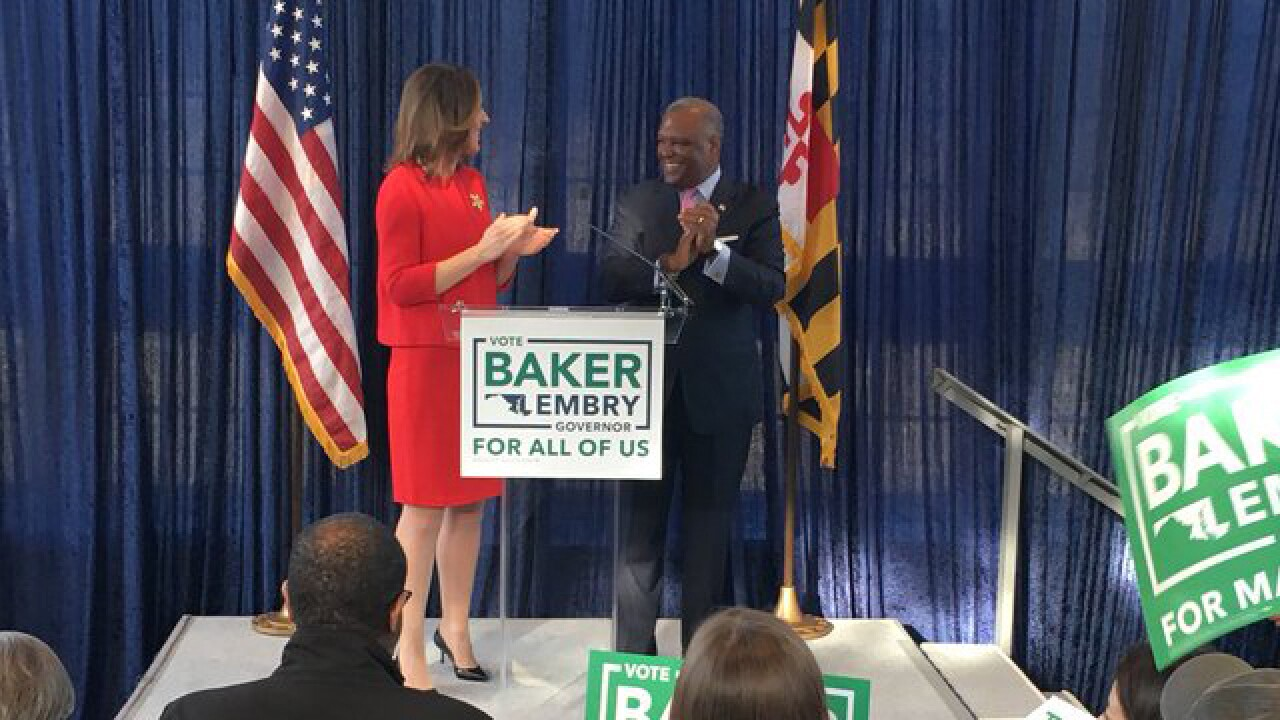Candidate for governor, Rushern Baker, releases Baltimore plan