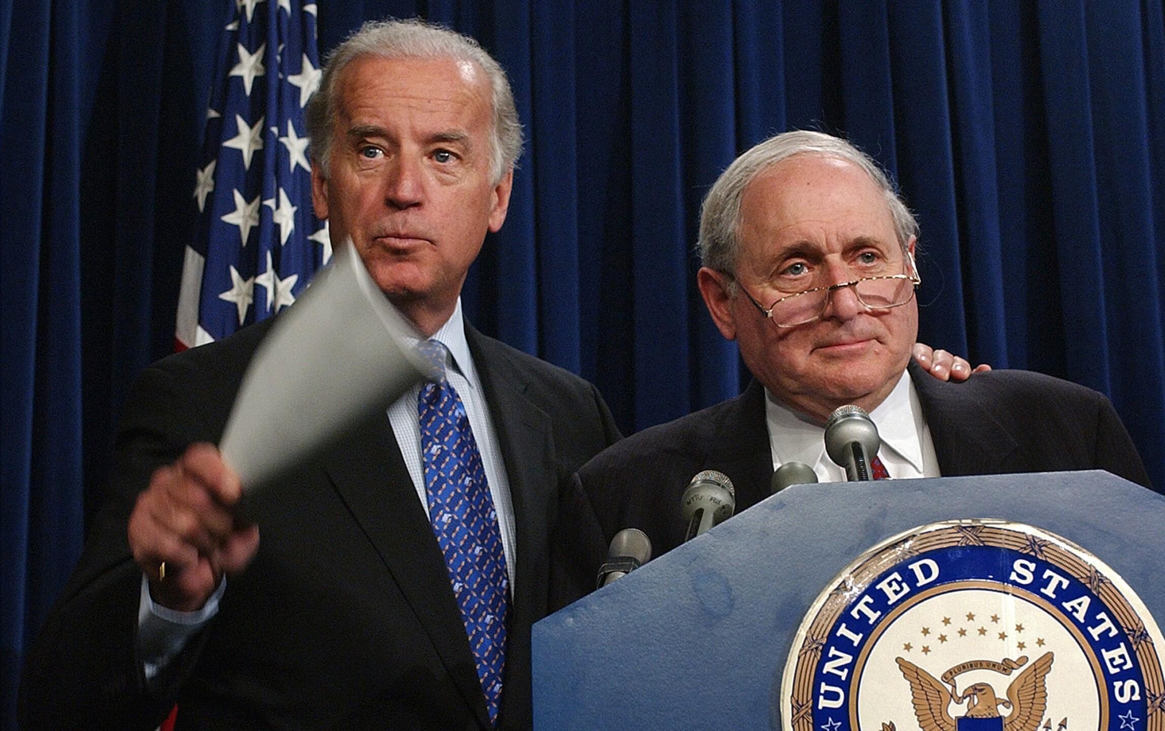 Joe Biden, Carl Levin