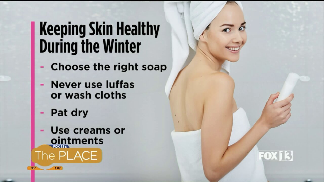 Keeping skin healthy during the winter