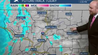 Cloudy, warmer temperatures and windy for Wednesday