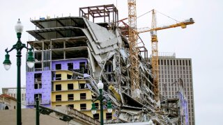 Hard Rock New Orleans Collapse