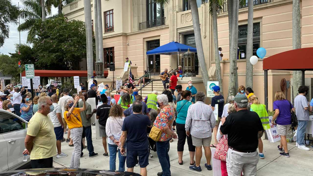 Voting rights march in St. Pete
