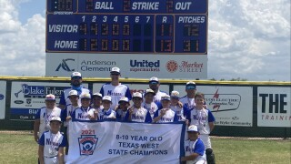 Victorious Texas West State Champions