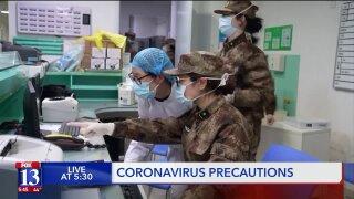Utah Department of Health prepared forcoronavirus