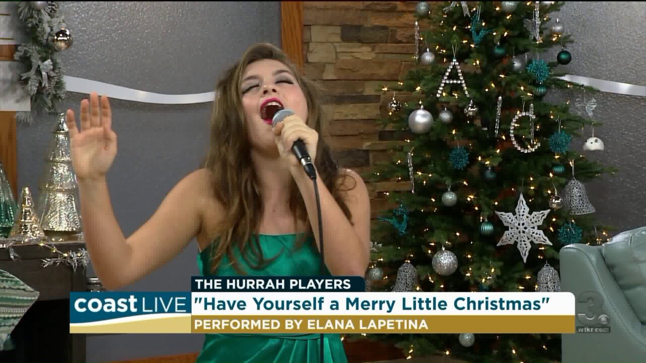 A preview of the holiday shows from Hurrah Players on Coast Live