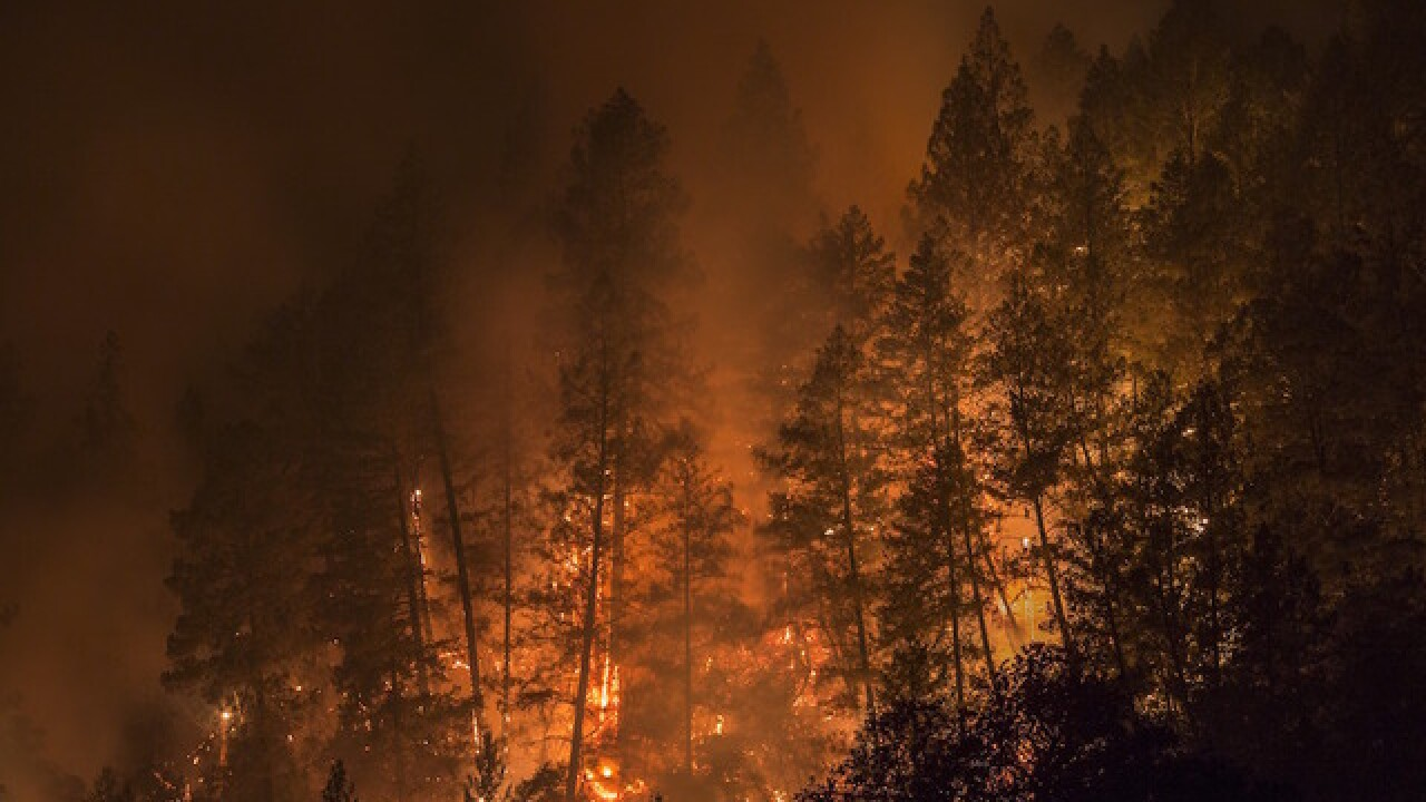 Progress made in fighting California flames